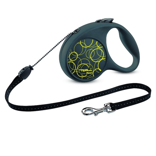Поводок-рулетка для собак Triol by Flexi Fun Neon M