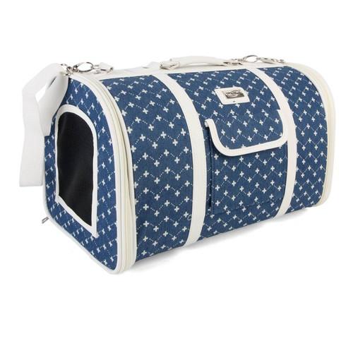 Сумка-переноска для собак и кошек Triol Жаклин , размер 44х26х27см.