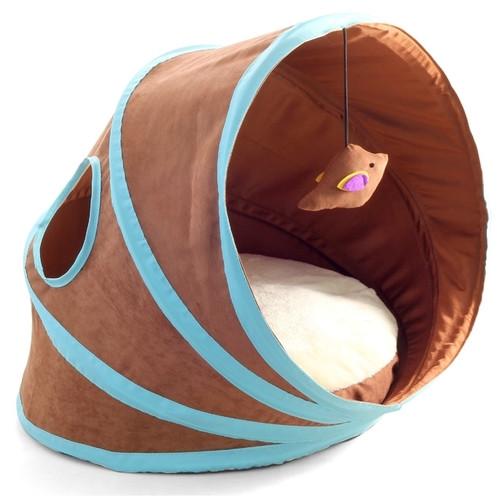 Лежанка для кошек Triol, размер 43х38х35см.