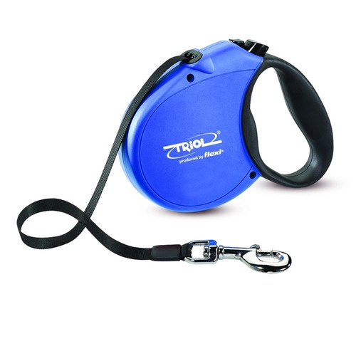 Поводок-рулетка для собак Triol by Flexi Standard Soft Blue L, синий