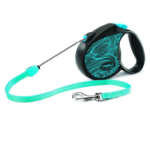 Поводок-рулетка для собак Triol by Flexi Colour Blue S