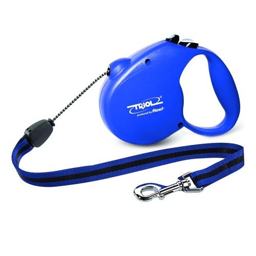 Поводок-рулетка для собак Triol by Flexi Standard Blue M, синий