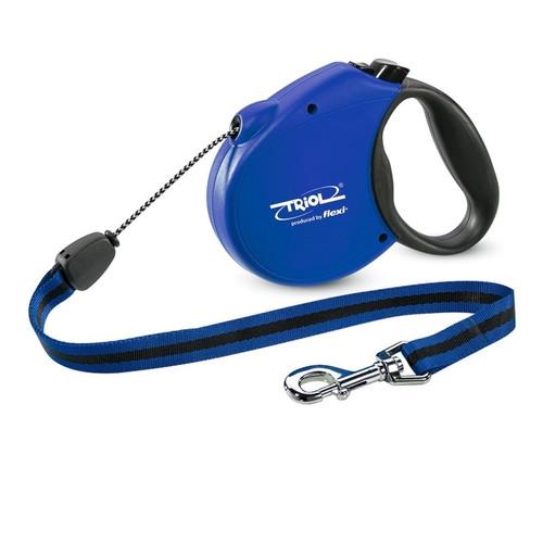Поводок-рулетка для собак Triol by Flexi Standard Soft Blue M, синий