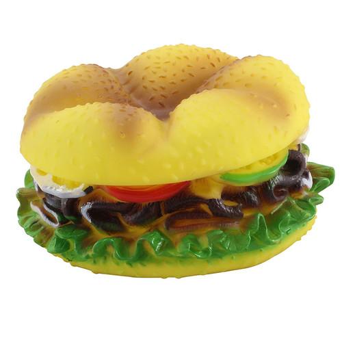 Игрушка для собак Triol Гамбургер большой, размер 13.5x7см.