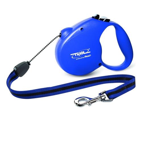 Поводок-рулетка для собак Triol by Flexi Standard Blue L, синий