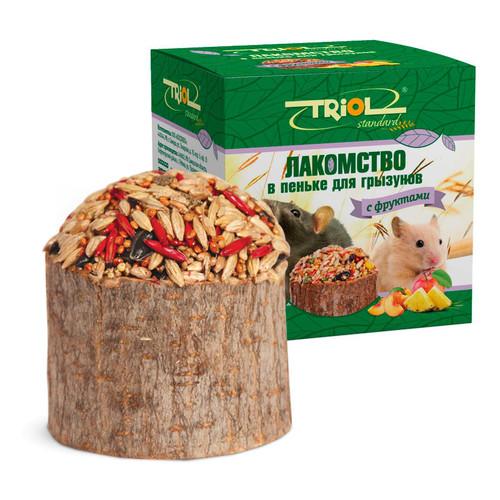 Лакомство для грызунов Triol, 70 г, с фруктами