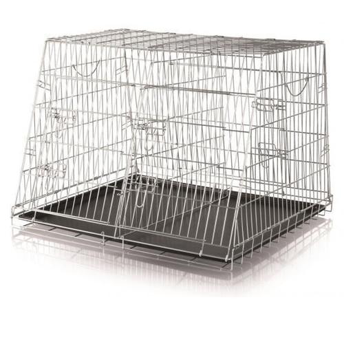 Клетка для животных Trixie Double Kennel, размер 93х68х79см.