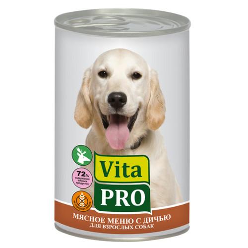 Корм для собак Vita Pro, 400 г, дичь