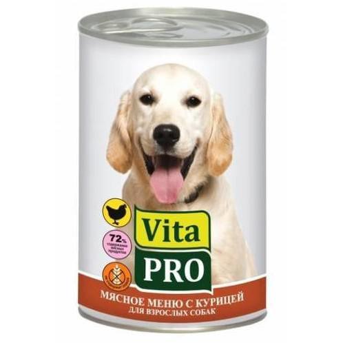 Корм для собак Vita Pro, 400 г, курица