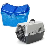 Пластиковые переноски для кошек