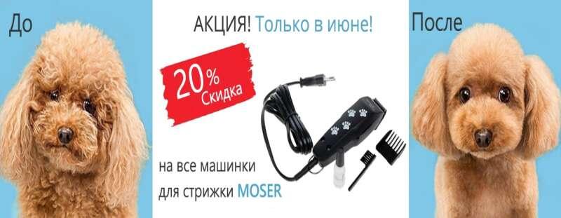Распродажа машинок Moser